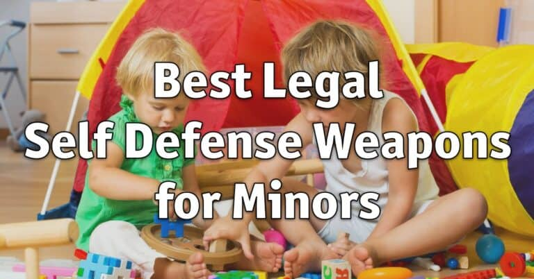 Best Legal Self Defense Weapons for Minors
