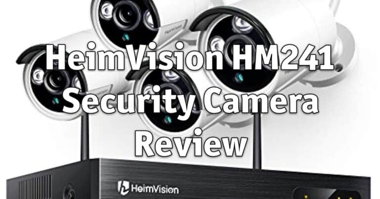 HeimVision HM241 Security Camera Review
