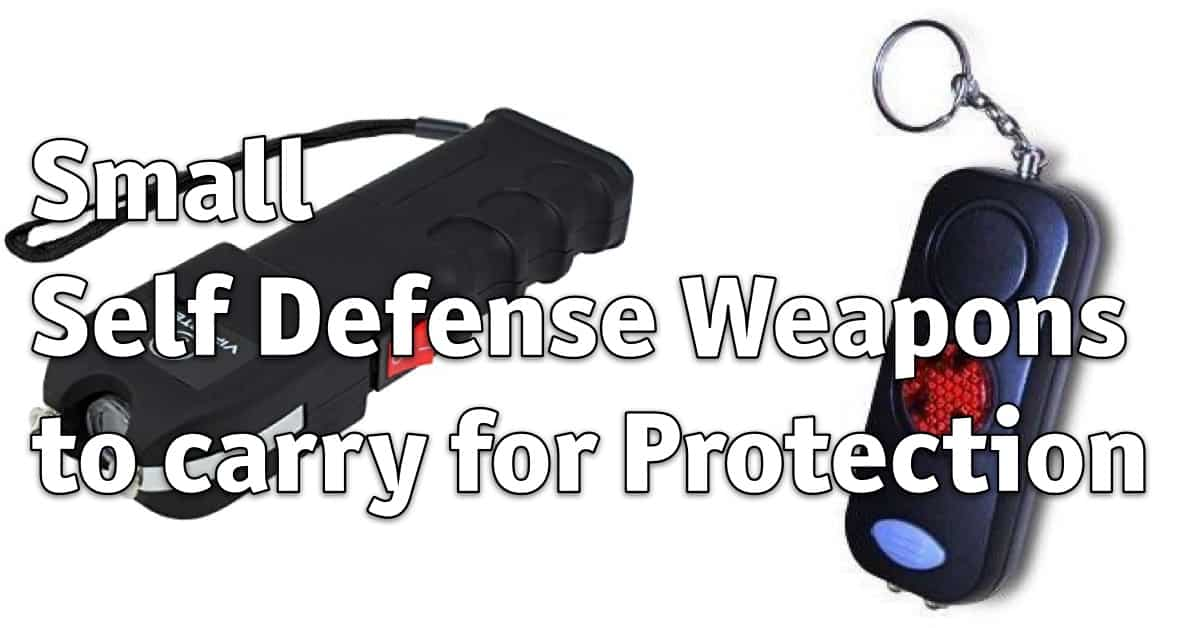 Small Self Defense Weapon to carry for Protection