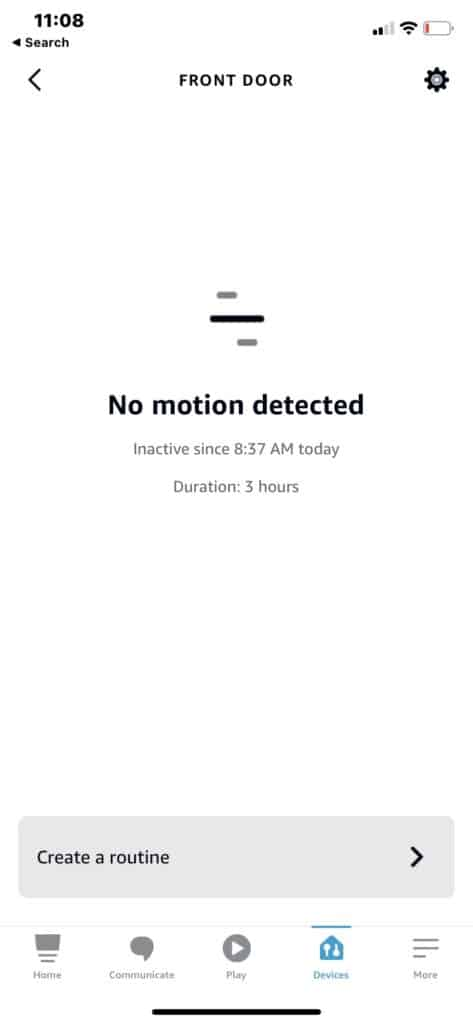 No motion detected on Alexa with eufy